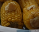 Cob on the corn