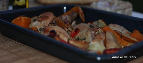 One Pan Chicken Roast