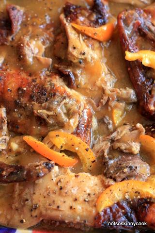 Duck in Orange and Van Der Hum Sauce